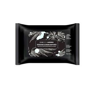 EVIO Skin Aurora Refreshing Cleansing Hemp Wipes